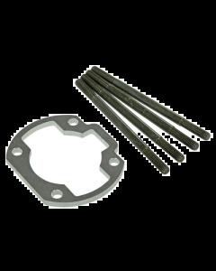 Ophoogplaat Stage6 - 5 mm - Inclusief Tapeinden - Minarelli Horizontaal (S6-79166ET01)