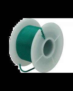 Montagesnoer / Lichtsnoer  0.75 mm²  Groen 25 Meter (UNI-496251)