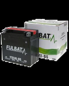 Accu Fulbat YTX14L-BS MF 12V 12Ah (Onderhoudsvrij) (FB-550605)