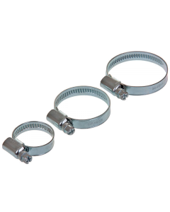 Slangklem - W2 RVS / Gegalvaniseerd 9 mm - 20-32 mm (UNI-123158)