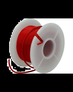 Montagesnoer / Lichtsnoer  0.75 mm²  Rood 25 Meter (UNI-496248)