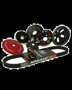 """Overbrengingset Naraku Sport V2 Compleet GY6 50cc 4 Takt (10"""" Wielen) (NK-KIT.A.139QMB.669)"""