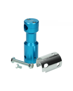 Stuurclamp TNT Peugeot Speedfight 1 & 2 blauw (TNT-303322)