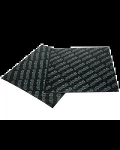 Membraanplaatvel Polini carbon 0.33 mm (2x 110x100mm) (POL-213.0605)