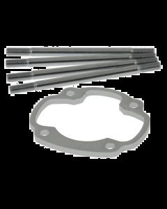 Ophoogplaat Polini - 5 mm - Inclusief Tapeinden - Minarelli Horizontaal - Polini Evo (POL-170.1001)