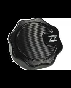 Tankdop Vintage Zelioni Zwart CNC Vespa (ZEL-GASVTG001B)