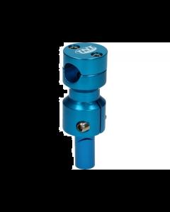 Stuurclamp TNT Gilera & Piaggio blauw (TNT-303325)