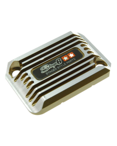 Rempot deksel Stage6 - Cooling Style - Yamaha Aerox - Titanium (S6-SSP101-2BZ/TI)