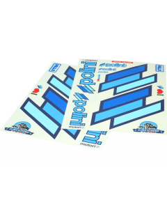 Stickerset Polini 34 x 48cm blauw (2 Delig) (POL-225.030)