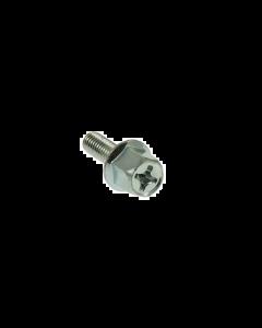 Uitlaatbout DMP - Zeskant + Kruiskop - M6 x 18 (Per stuk) (DMP-26878)