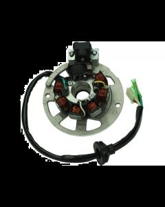 Stator inclusief grondplaat CPI / Keeway Euro2 50cc 2 Takt (T4T-180007)