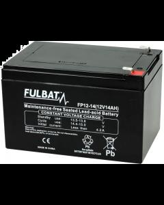 Accu Fulbat FP 12-14 Gel VRLA 12V 14Ah (FB-550912)
