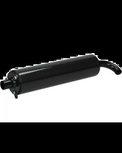 Uitlaatdemper Stage6 Pro Replica carbon (S6-91ET011)
