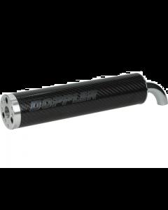 Uitlaatdemper Doppler Carbon 2 Bouts / 3 Bouts (DOP-487659)