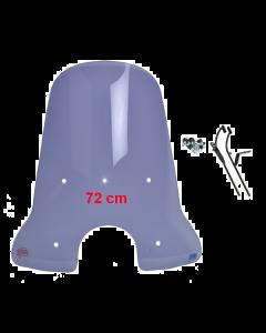 DMP windscherm smoke hoog voor BTC Riva, AGM VX50 (DMP-78597)