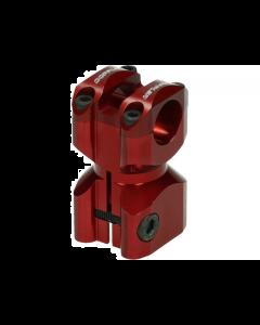 Stuurclamp Doppler Gilera & Piaggio rood (DOP-451839)