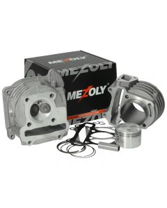 Cilinderkit Mezoly 90cc BigBore voor GY6 / Kymco 50cc 4 Takt