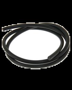 Bougiekabel DMP - Zwart - 7 mm - 1 Meter (DMP-120350)