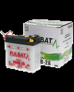 Accu Fulbat 6N4B-2A DRY 6V 4Ah (Inclusief zuurpakket) (FB-550514)