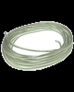Bougiekabel DMP - Transparant - Dun 5 mm - Per meter (DMP-120348)