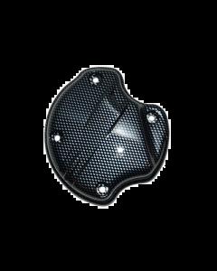 Kickstartdeksel Luchtinlaat DMP - Gilera & Piaggio - Carbon (DMP-70597)