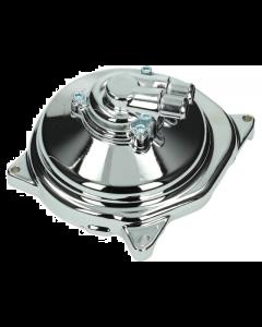 Waterpomp deksel TNT - Minarelli Horizontaal - Chroom (TNT-289055)