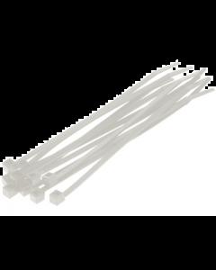 Kabelbinders / Tie Rib - Naturel - 4,8 x 180 mm - 100 Stuks (UNI-DG580130)