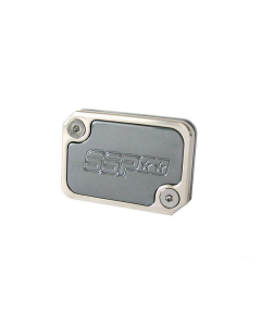 Rempot deksel Stage6 - Yamaha Aerox - Staalgrijs (S6-SSP101BZ/SG)