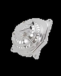 Waterpomp deksel STR8 - Racing - Minarelli Horizontaal - Chroom (STR-500.50/CR)