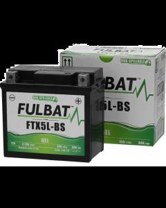 Accu Fulbat FTX5L-BS Gel SLA 12V 4Ah (Onderhoudsvrij) (FB-550919)