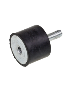 Polini silentblock M6 (Ø25x20mm) M/F (POL-214.0102)