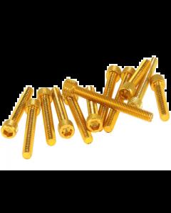 DMP Carterboutset - Kymco - Aluminium - Goud (DMP-135751)