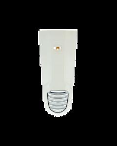 Claxonneus / Middenneus kapje - Vespa LX 2012 - Wit (Monte white 544) (UNI-29VE132)