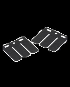 Membraanplaatset Polini - Minarelli Verticaal - Carbon (POL-213.0530)