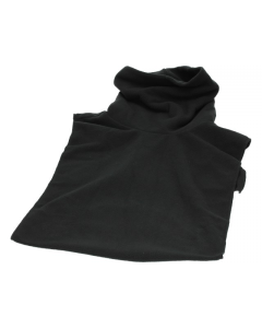 Fleece col zwart (MOK-86732)