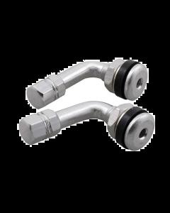 Ventiel set STR8 - Haaks - Aluminium (STR-545.66/AL)