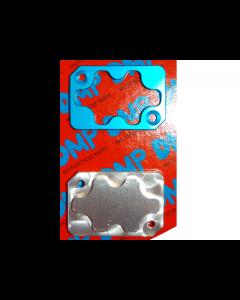 Rempot deksel DMP - 2 Delig -  Yamaha Aerox - Blauw (DMP-24418)