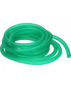 Benzineslang RMS 5x7mm Groen / transparant 5 Meter (Loodbestendig)