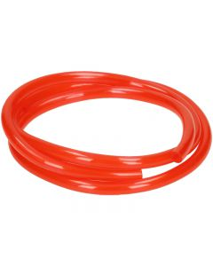 Benzineslang Mezoly Rood transparant 1 meter