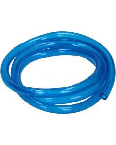 Benzineslang Mezoly Blauw transparant 1 meter